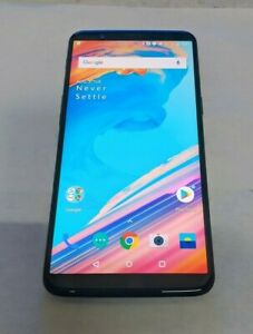 OnePlus 5T 64GB(A5010) - Black - Dual Sim Unlocked - Fully Functional
