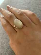 Womens Accessorize Ring, Pearl/White