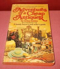 1979 ADVENTURES OF A CHEAP ANTIQUER PAPERBACK BOOK