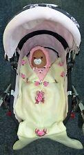 New baby dolls cream mermaid sleeping bag pram Annabell Chou Born Tiny Tears