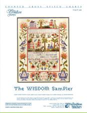 The Wisdom Sampler Vermillion Stitchery Cross 00004000  Stitch Pattern 512
