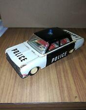 Modellino Auto Police In Latta Anni 60