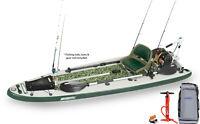 Sea Eagle FS126 Pro Watersnake Motor Fishing Rig Pkg Inflatable SUP Paddleboard