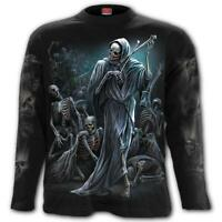 Spiral Direct DANCE OF DEATH Long sleeve T-Shirt Reaper/Skeleton/Gothic