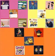 15 Minions Assorted - Despicable Me - Large Stickers - Party Favors - Rewards