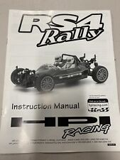 HPI Racing RS4 Rally RC Car Manual - Vintage - Stickers
