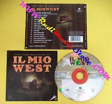 CD SOUNDTRACK Pino Donaggio Il Mio West CGM 493497 2 IT 1998 no dvd vhs lp(OST4)