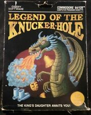 Legend of the Knuckerhole Knucker Hole Knucker-Hole Celery Software - (1984)