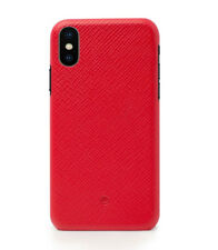 Beyzacases Duke Leder Clip Schutz Hülle Case Cover in Rot für Apple iPhone X