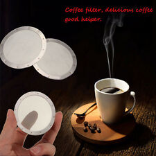 250Mesh Coffee Filter Reusable Stainless Steel Replace For Aeropress Coffeemaker