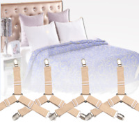 16 PCS Quilt Cover Fixer Durable Grippers Bed Sheet Fastener Blanket Buckle Clip