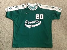 HCC HOLYOKE COMMUNITY COLLEGE COUGARS JERSEY XXL
