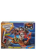 NEW Hot Wheels Monster Jam Pirate Takedown