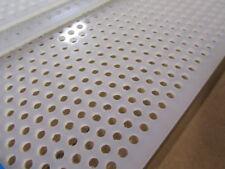 """1//2/"""" Flame Retardant .5/"""" 6 PIECES Polypropylene Sheet White x 6/"""" x 9.25/"""""""