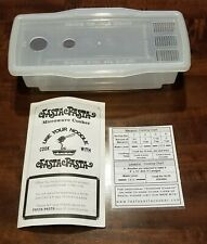 FASTA PASTA Microwave Cooker and Strainer - Made in USA - Dishwasher Safe