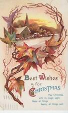 """Best Wishes For Christmas"" 1911 Post Card"