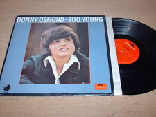 Donny Osmond - Too Young - LP Record  VG VG