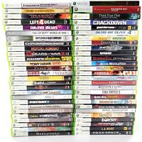 Microsoft Xbox 360 Huge Lot Of 54 Games All Complete No Sports Tested & Works