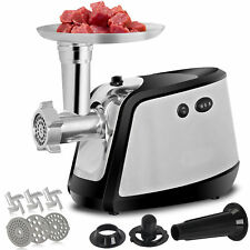 Electric Meat Grinder Mincer Sausage Stuffer Filler Stainless Chopper Machine