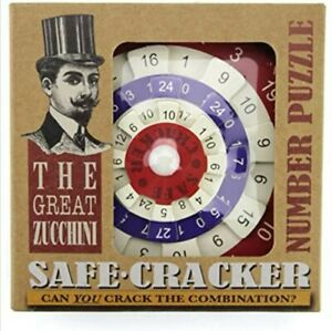 Safe Cracker - Great Zucchini Wheel Number Combination Puzzle - Cheatwell Games