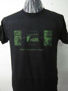Metal Gear Solid t-shirt (retro PSX design)-Hideo Kojima.