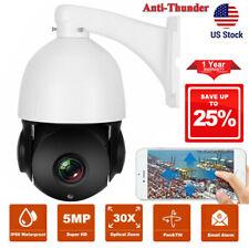 5MP Super HD PTZ Speed IP Camera 30X Zoom 2592x1944 Pan Tilt IP Cam Email Alarm