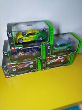 LOTTO 5+1 OMAGGIO BURAGO 1/32 SERIE RALLY E DTM  ✧MISB✧ PERFECT ►NEW◄