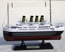 Detailed Wooden model of Titanic - 30cm x 18cm