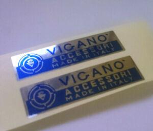 Lambretta  Vespa 2x (BLUE)  VIGANO Accessori made in italy stickers