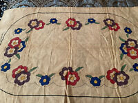"Vintage Primitive Rug Hooking Pattern ""Lahaska Rose"" No.3468"