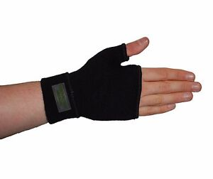 Black Palm Hand Wrist Thumb Brace Support Pain Relief Fits left and right