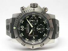 CORUM ADMIRALS CUP SEAFENDER 46 753.451.04 STEEL CHRONO DIVE AUTOMATIC WATCH