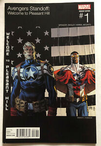 Avengers Standoff Welcome to Pleasant Hill HIp Hop Variant Near Mint- NM-