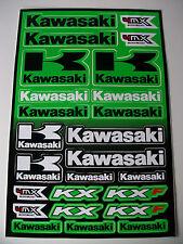 New Kawasaki Decal Sticker Kit Kx Kxf Kmx Kl Klx Kdx Klr Zxr Zx9 Zx6 Zx6r Erf Ke