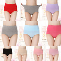 Hot Womens Cotton Stretchy Breathable Underwear Comfortable Panties Underpants