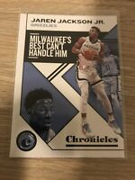 2019-20 Panini Chronicles Basketball #13 Jaren Jackson Jr Grizzlies