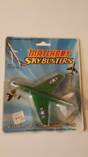 RARE Vintage Original Matchbox Skybusters 1972 Lesney on card - SB.2 Corsair A7D