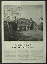 Oldany House Nr Aldeburgh Suffolk C J Penhouse Shell & BP 1957 1 Page Advert Ad