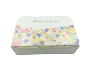 Cute Bakery Boxes   for Cupcake/Macaron Party Gift   Multi-color Floral   12cts