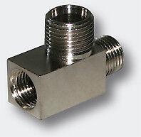 Airbrush T-Stück Verbinder Mini Kompressor AS189 Verbindungsstück Ersatzteil