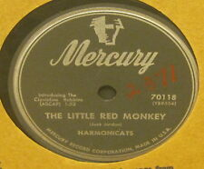 The Little Red Monkey HARMONICATS Flexible 78 Phonograph Record