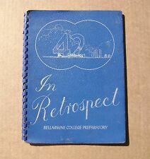 1942 Bellermine High School Yearbook San Jose California CA - Leo Righetti