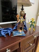 MARVEL LEGENDS CUSTOM ODIN BAF AND LOKI FROM THOR MUST SEE!