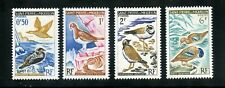 St. Pierre et Miquelon Complete MNH Set #362-365 Birds Stamps