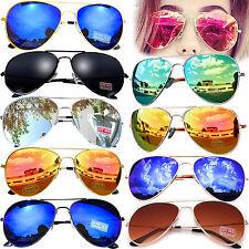 Sonnenbrille Pilotenbrille Fliegerbrille Pornobrille Brille Verspiegelt Aviator