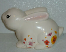 Wells Fargo Coin Piggy Bank Year Of The RABBIT Advertising Ceramic