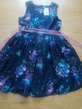 6-7 Years Girls Childs Magic Fairy Toadstool Dress Sleeveless Cardigan Red Se