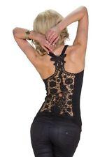 Damenblusen, - tops & -shirts mit Rundhals-Ausschnitt aus Spitze M