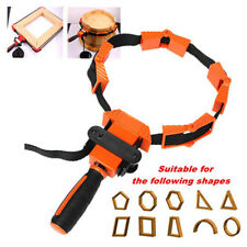 PICTURE FRAME NON-SLIP WOODWORKING BAND STRAP CLAMP RATCHET CORNER VISE TOOL
