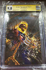 Revenge of the Cosmic Ghost Rider #1 Clayton Crain Virgin CGC SS 9.8 W/COA